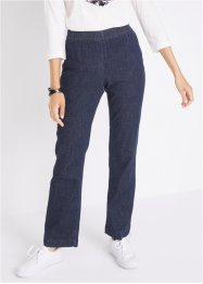 Jeans elasticizzati con elastico in vita bootcut, bpc bonprix collection