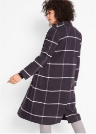 Cappotto corto a quadri con bordi a costine, bpc bonprix collection