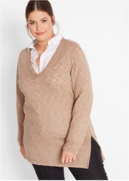 Maglione con cerniera, bpc bonprix collection