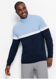 Maglione con colletto dritto, bpc bonprix collection