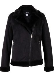 Giacca in similpelle stile biker, bpc bonprix collection