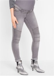 Jeans prémaman stile biker, bpc bonprix collection