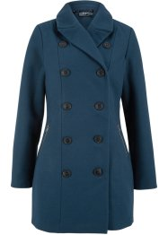 Giacca lunga in simil lana stile trench, bpc bonprix collection