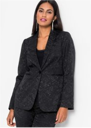 Blazer in satin jacquard, BODYFLIRT