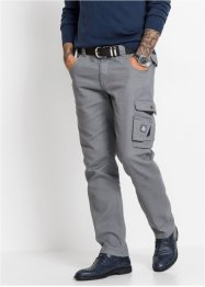 Pantaloni cargo in twill regular fit, bpc bonprix collection