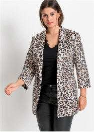Blazer in fantasia animalier, BODYFLIRT