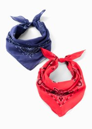 Bandana (pacco da 2), bpc bonprix collection