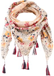 Foulard con nappine, bpc bonprix collection
