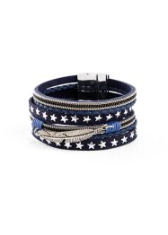 Bracciale con piuma e stelline, bpc bonprix collection