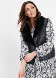 Gilet in similpelle, bpc selection