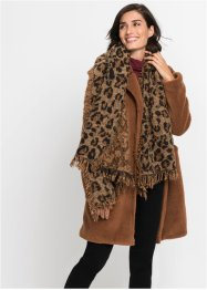 Scialle leopardato XXL, bpc bonprix collection