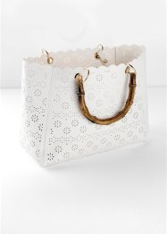 Borsa con trafori al laser, bpc bonprix collection