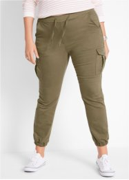 Pantaloni cargo in twill, bpc bonprix collection