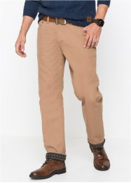 Pantaloni termici in twill regular ft, John Baner JEANSWEAR