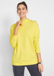 Maglia boxy con bottoni, bpc bonprix collection