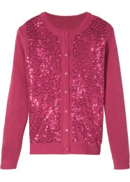 Cardigan con paillettes, bpc bonprix collection
