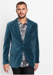 Giacca elegante in velluto slim fit, RAINBOW