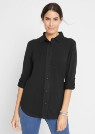 Camicia lunga in jersey, bpc bonprix collection