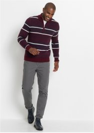 Pullover con cerniera in stile norvegese regular fit, bpc selection