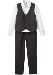 Camicia, gilet, pantaloni (set 3 pezzi), bpc bonprix collection