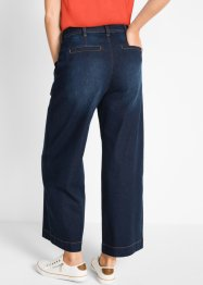 Jeans a vita alta con cintura loose fit cropped, bpc bonprix collection