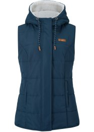 Gilet con pellicciotto sintetico, bpc bonprix collection