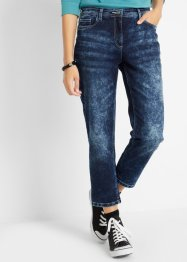 Jeans cropped in stile cinquetasche