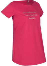 T-shirt per sport con stampa, bpc bonprix collection