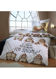 Biancheria da letto con scimmiette, bpc living bonprix collection