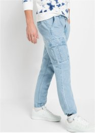 Jeans cargo regular fit straight, RAINBOW
