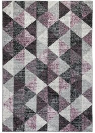 Tappeto con fantasia grafica effetto vintage, bpc living bonprix collection
