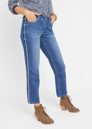 Jeans multistretch con bande straight, John Baner JEANSWEAR