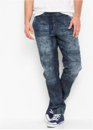 Jeans con elastico in vita slim fit straight, RAINBOW