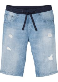 Bermuda in jeans regular fit, RAINBOW