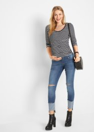 Jeans prémaman cropped skinny, bpc bonprix collection