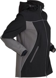 Giacca comoda in softshell, bpc bonprix collection