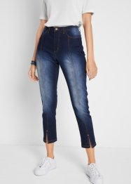Jeans cropped con spacchetto, bpc bonprix collection