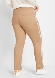 Pantaloni chino con bande laterali, bpc bonprix collection