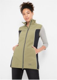Gilet tecnico in softshell, bpc bonprix collection