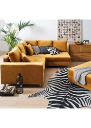 Tappeto in pelle di zebra sintetica, bpc living bonprix collection