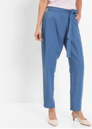 Pantaloni con pinces in Tencel lyocell, bpc selection premium