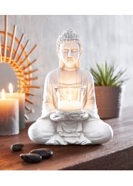 Statuetta di Buddha con portalumino, bpc living bonprix collection