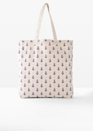 Borsa shopper in tessuto, bpc bonprix collection