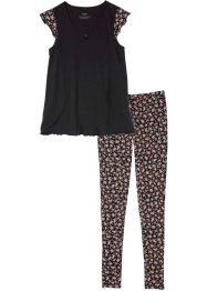 Pigiama con leggings, bpc bonprix collection