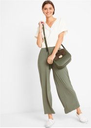 Pantaloni cropped in jersey, bpc bonprix collection