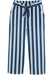 Pantaloni in maglina con cintura, bpc bonprix collection