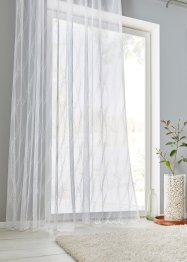 Tenda jacquard trasparente con onde, bpc living bonprix collection