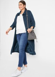 Giacca modello trench  in viscosa, bpc bonprix collection