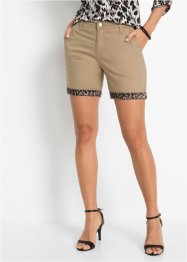 Pantaloni chino corti con satin, BODYFLIRT boutique