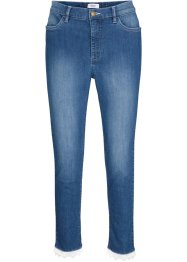 Jeans cropped con pizzo Maite Kelly, bpc bonprix collection